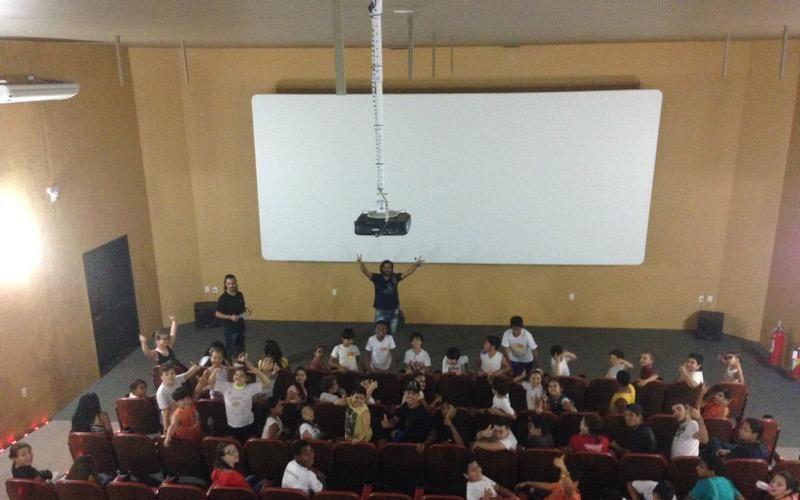 Exibição de Filme –  Sala Cinergia Projeto Guri