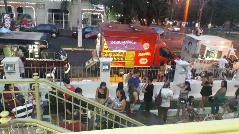 Os food trucks invadiram Orlândia