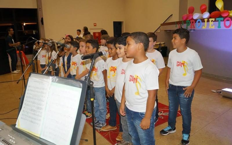 Alunos do Polo IORM Guaíra realizaram concerto de despedida do semestre