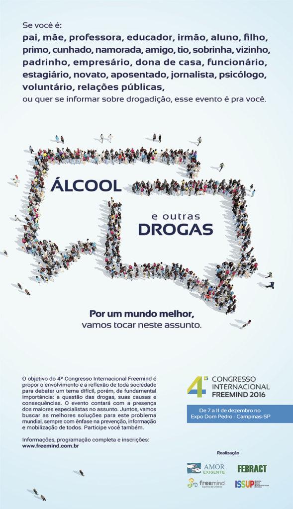 """""""Drogas & Álcool: Por um Mundo Melhor, Vamos Tocar nesse Assunto""""."""