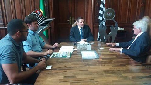 IORM é recebido em audiência pelo Secretário Estadual de Esporte, Lazer e Juventude