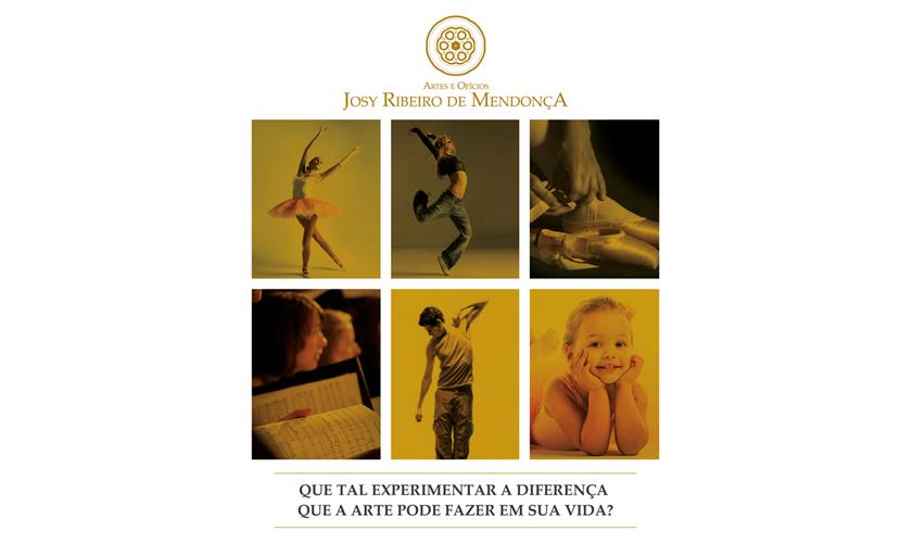 Artes e Ofícios Josy Ribeiro de Mendonça abre inscrições para oficinas de dança e teatro