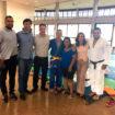 Judô Branco Zanol IORM comemora transferência do judoca José Vitor para Associação de Judô de Divinolândia, SP