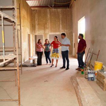 Com inauguração prevista para maio, IORM avança nas obras do Núcleo Cultural de Ipuã