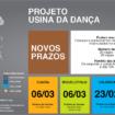 Usina da Dança – Abertas inscrições para novos Alunos