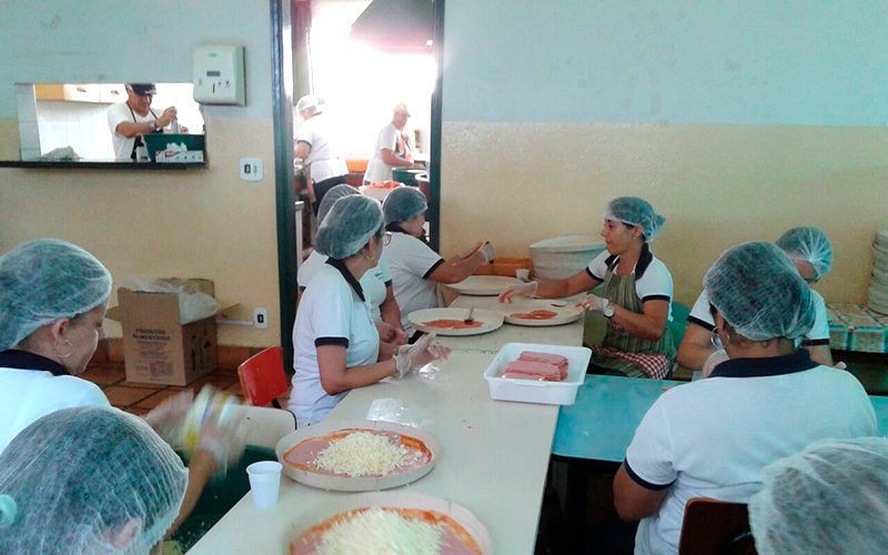 Casa da Criança tem venda recorde na promoção de pizzas