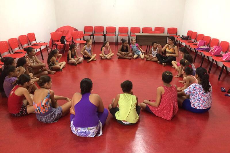 Para a Usina da Dança Páscoa é tempo de profundas reflexões nos quatro polos do Projeto