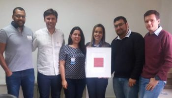 Usina Nova Aralcool recebe gravura que marcou a inauguração do Núcleo Cultural ORM, Ipuã