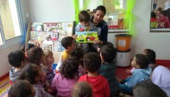 Há cinco anos, Bolsa Mágica, traz o encantamento da leitura aos alunos da Casa da Criança