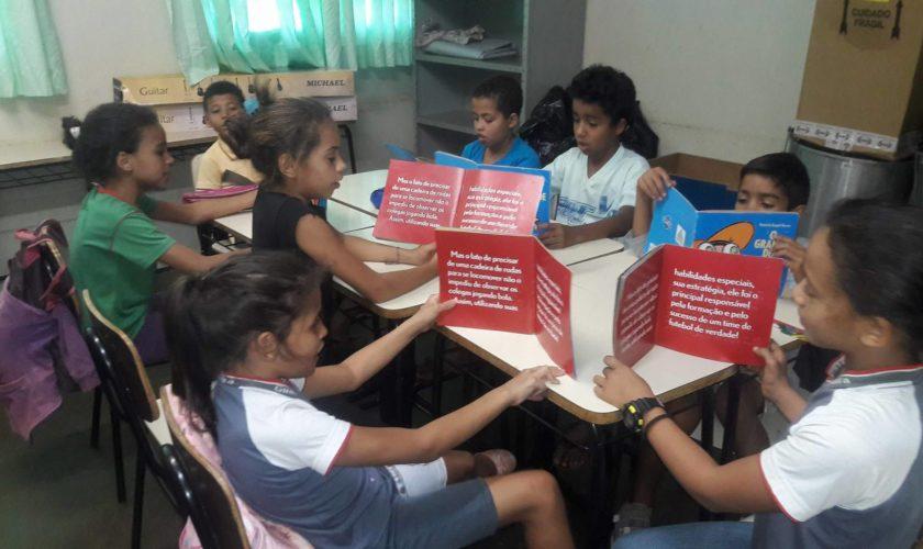 Oficina de Leitura - Projeto Agenda Cultural IORM