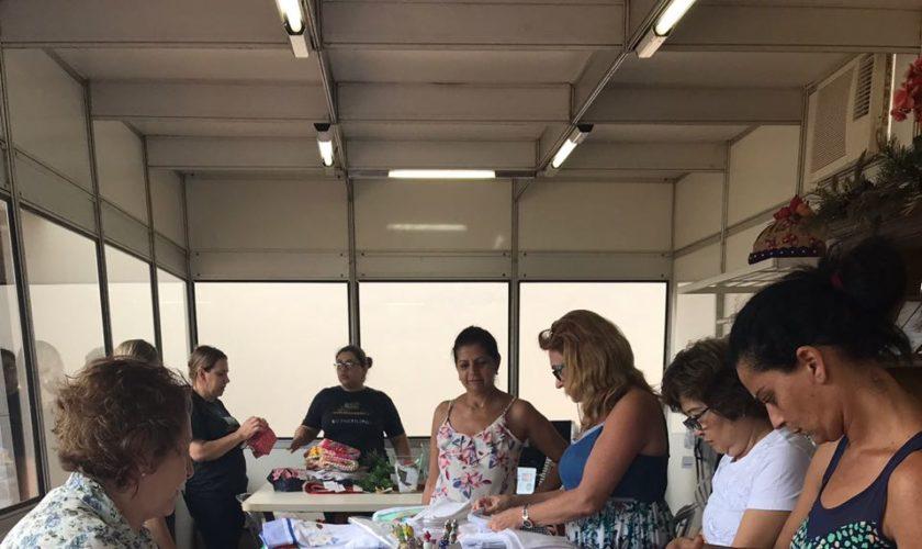 Bazar de natal - Grêmio Recreativo e Poliesportivo Colorado