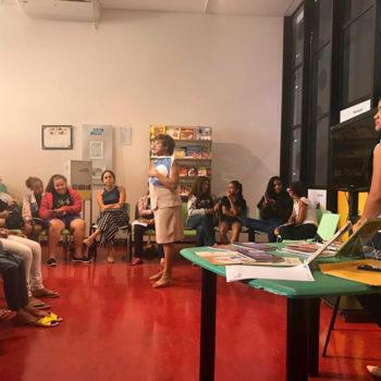 Biblioteca Comunitária Energia do Conhecimento recebe escritoras no Encontro Cultural