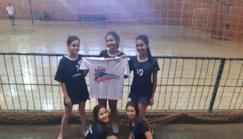 Alunas do projeto Futuro Olímpico participaram dos Jogos Escolares do Estado