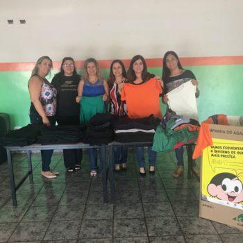 IORM faz doação à Campanha do Agasalho do Fundo Social de Solidariedade do Município de Miguelópolis
