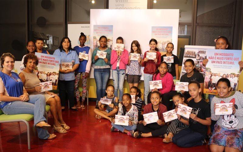 Biblioteca Energia do Conhecimento abre espaço para a informação no combate à dengue em Guaíra